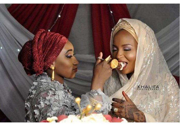 Modern day polygamy in Africa: first wife feeding second wife goes viral