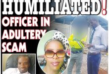 Photo of Officer humiliated over married woman