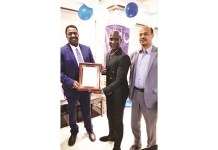 Sadomba honoured in UAE