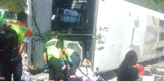 Durban - Harare Bound Bus In Horrific Crash