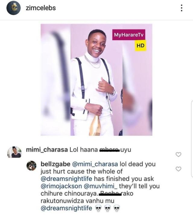 Chatunga And EX-LOVER UNDRESS Each Other On Social Media