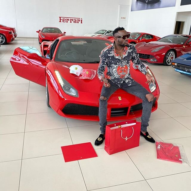 Pictures: Ginimbi buys 'Ferrari 488 Spider' sports car