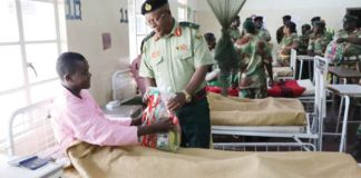 Army pays medical bills for accident victims