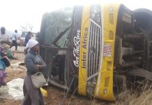 One Perish in Inter Africa bus accident