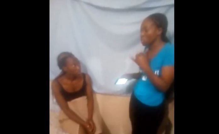 Valentines Romance Gets Ugly As Woman Is CAUGHT Red-Handed BY Married Lover's Wife