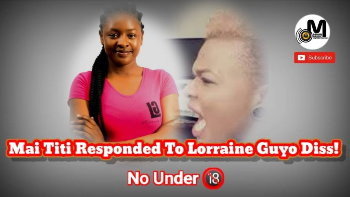"Mai Titi Airs Lorraine Guyo's Dirty Secrets, ""That's Why You Had An Abortion!"""