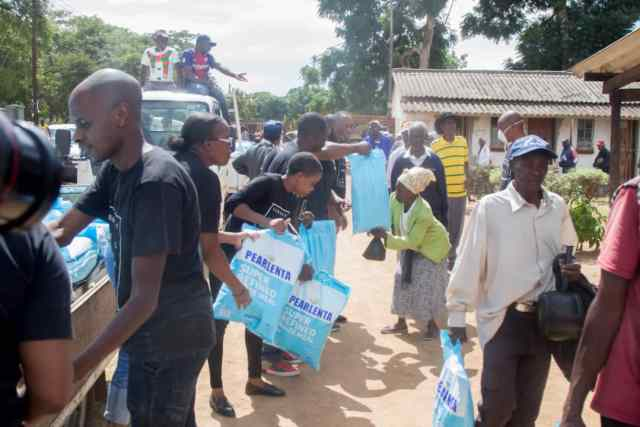 Prophet Uebert Angel delivers first tranche of coronavirus aid to Chitungwiza