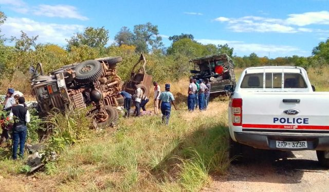 1 Dead, 24 Injured In Kariba Army Truck Accident