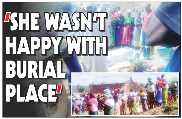 Woman Exhumed! 'She wasn't happy with burial place'