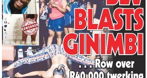 Bev Blasts Ginimbi...Row Over R40 000 contest