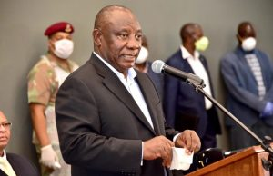 President Ramaphosa says R500 billion will be spent by the state to save the economy