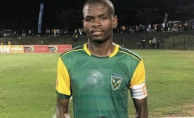 Golden Arrows defender Nkanyiso Mngwengwe has died