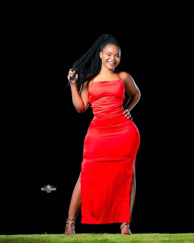 Meet Patie Nyathie, The Viral 'Lady in Red' Wechimuti!