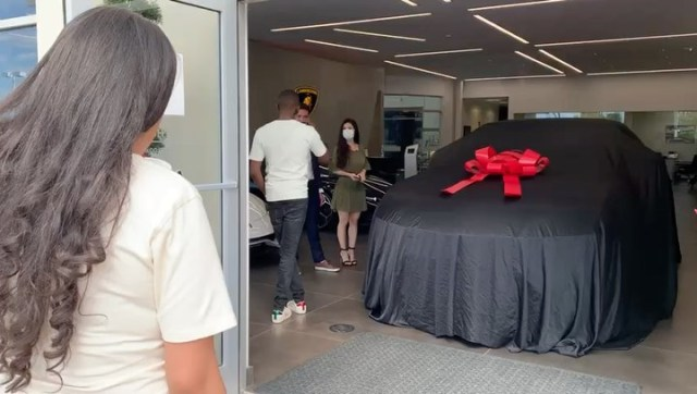Prophet Passion Java buys wife a 340K Lamborghini Urus 2020 custom made as a birthday gift: Video