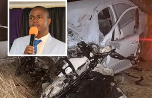 Apostle Chiwenga involved in a car accident 2 days after revealing that state agents want to abduct him