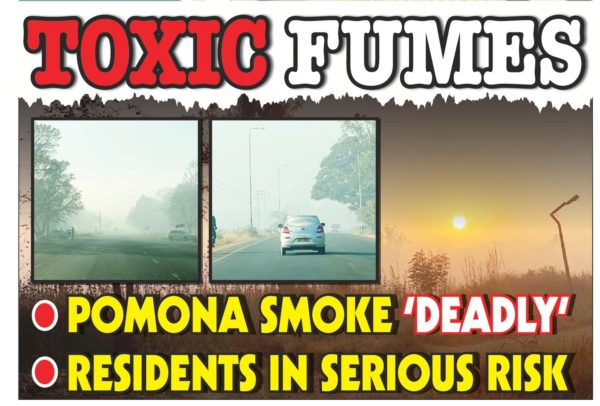 Pomona Smoke Deadly! Residents In Serious Risk