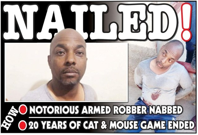 Most wanted armed robber Taj Abdul, 7 accomplices arrested
