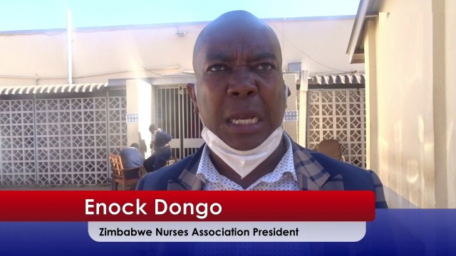 Zimbabwe Nurses Association urges members to stop industrial action and report for work