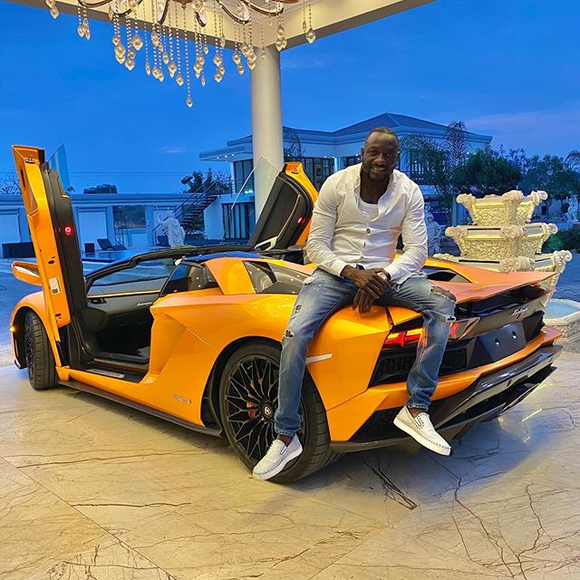 Ginimbi lands New Lambo!