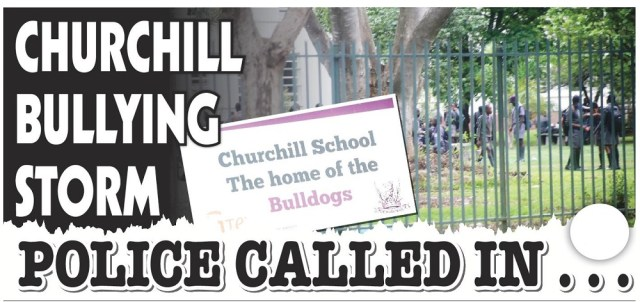 Churchill 'The home of bulldogs' In Bullying Scandal!