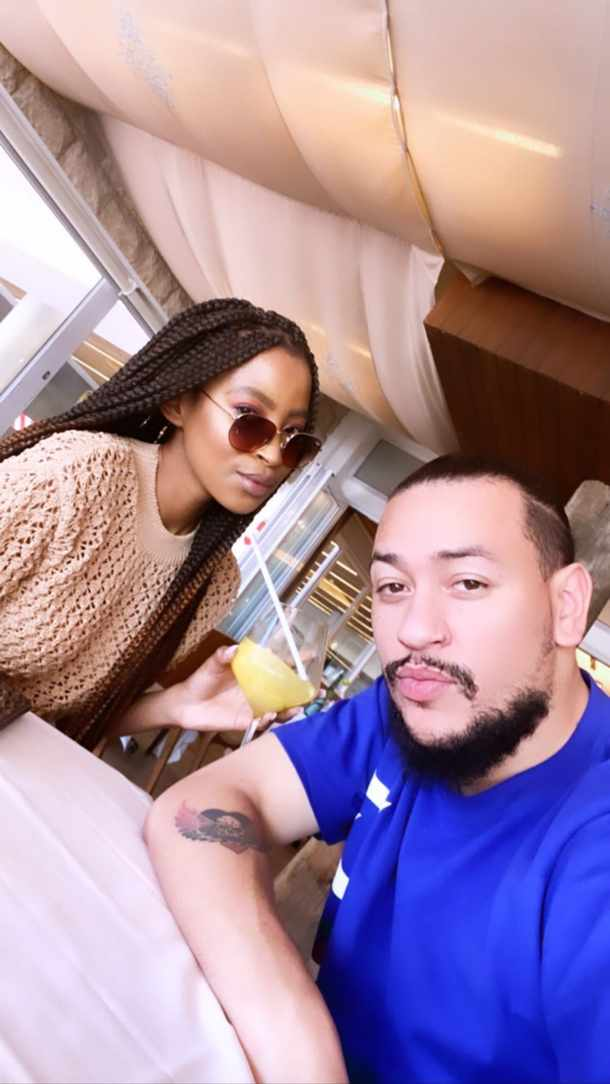 AKA and Nelli Tembe expecting a baby?