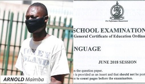 Jailed for leaking 'ZiMSEC' exams