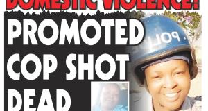 Sergeant killed! ...Shot by cop hubby