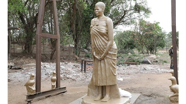 Mbuya Nehanda's family sues government over wrong statue