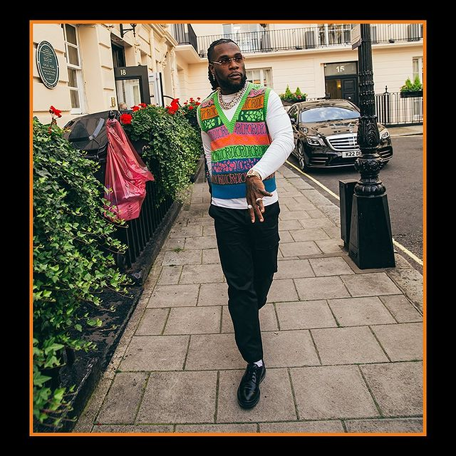 Picture of Burna Boy's Huge 4-5 Causes Chaos On Social Media