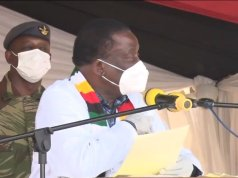 """Take The Vaccine Or Lose Your Job"" - Mnangagwa Gives Ultimatum"