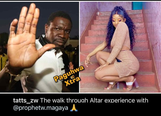 Prophet Magaya delivers Moana's sister Tatts from drugs and evil spirits