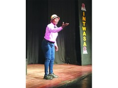 One-person play steals the show at Intwasa
