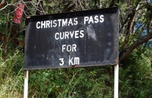 Haulage truck, Wish in Christmas Pass accident
