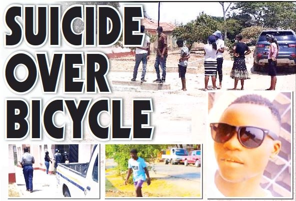 SUICIDE OVER BICYCLE