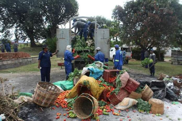 FULL TEXT: Vendors' Group Takes Police to Task Over Burning Of ...