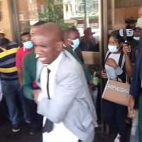 Khupe's Bodyguard Beaten Up At Anti-Mwonzora Press Conference.