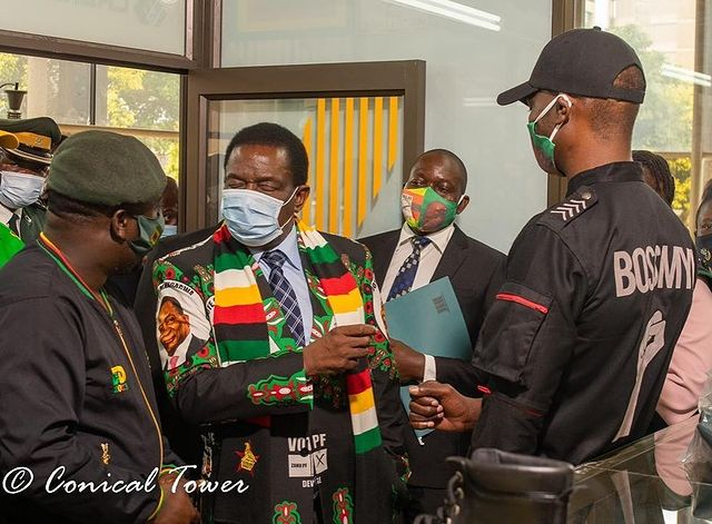 Mnangagwa pal Mike Chimombe nabbed after Borrowdale all-night party