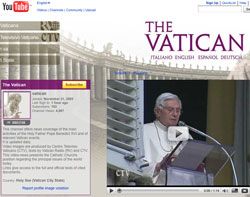 Vatican YouTube Channel