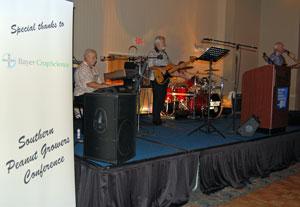 SPGC 08 opening dinner band