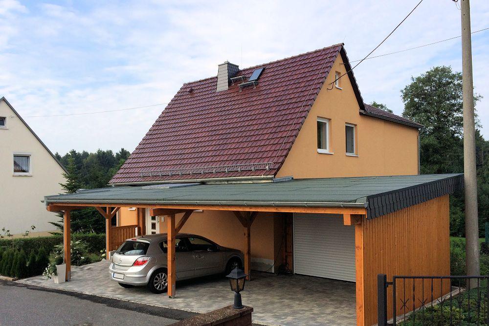 Carports Balkone Vordcher Zimmerei Schreiber In