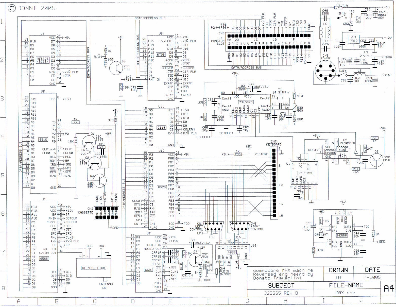 Here Are The Max Machine Reverse Engineered Schematics For Rev B Boards