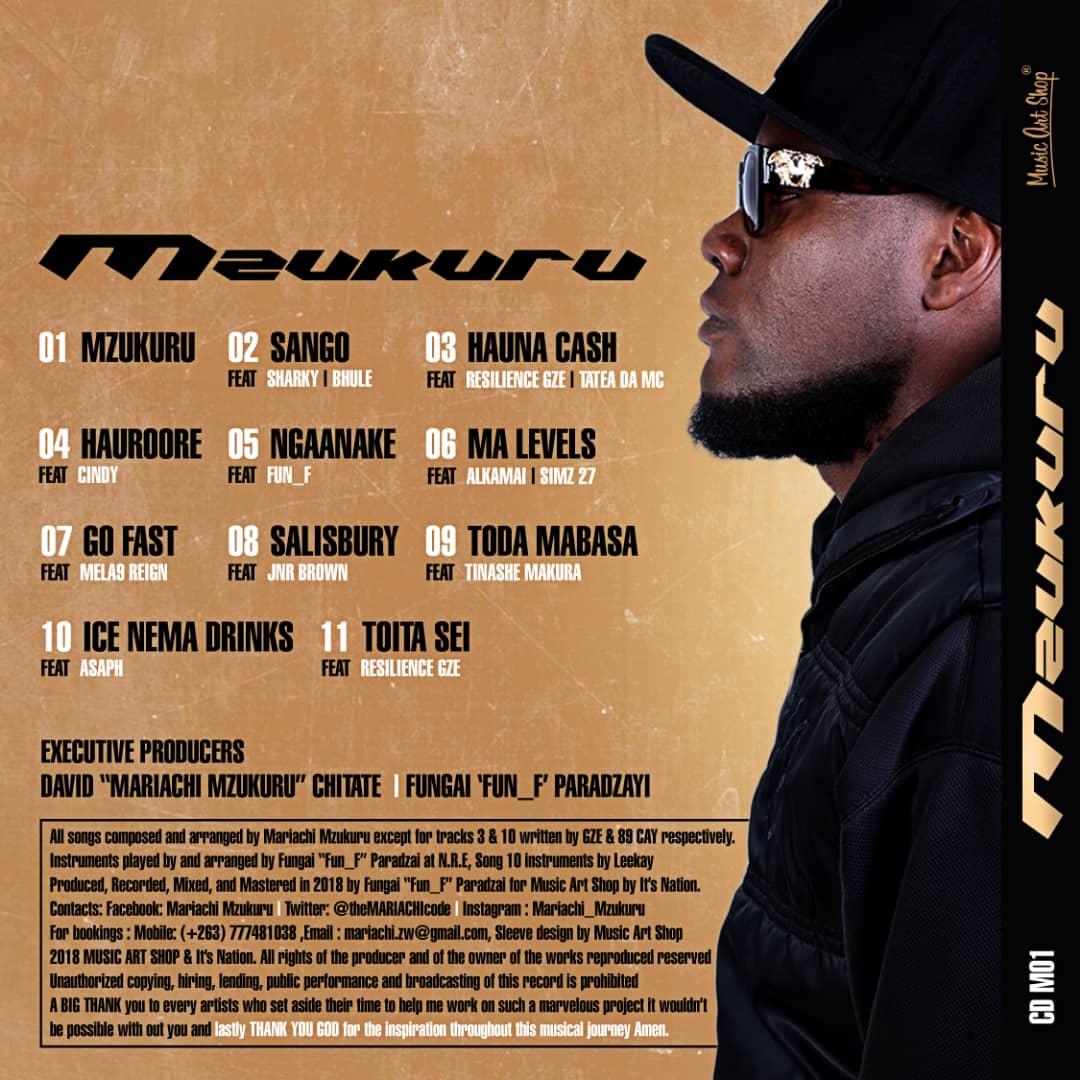 mzukuru tracklist