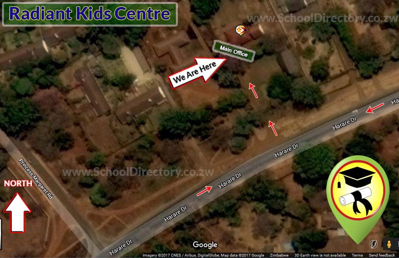 Radiant Kids Centre map location school directory