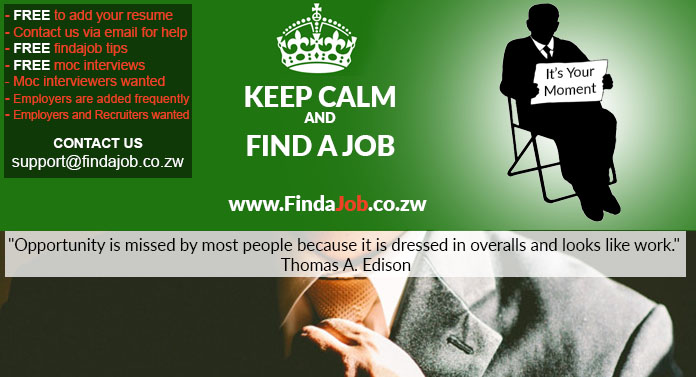 ZimShoppingMalls FindaJob Launch