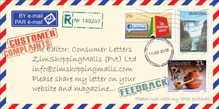 Consumer Letters – Restore GOOD Service Delivery