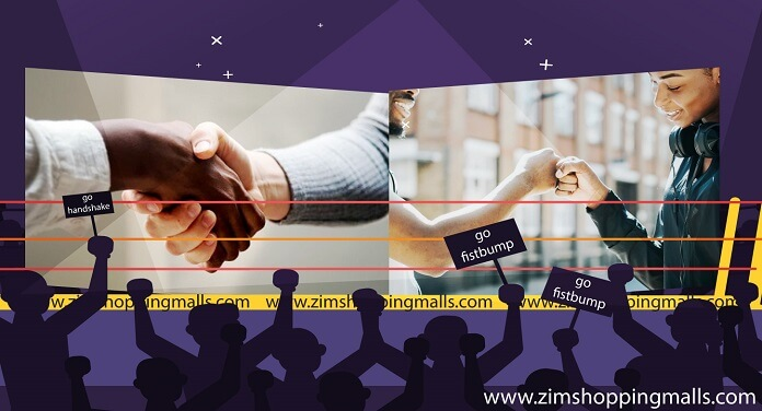 handshake vs fist bump greeting zimbabwe zimshoppingmalls