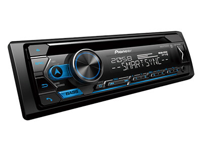 Pioneer DEH-4250BT car radio - supa car sounds