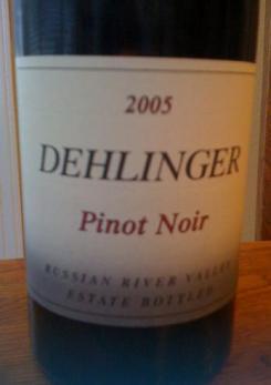 2005 Dehlinger Pinot Noir