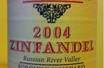 William Selyem 2004 Zinfandel