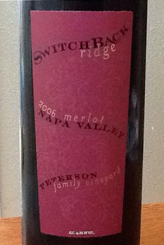 2006 Switchback Ridge Merlot